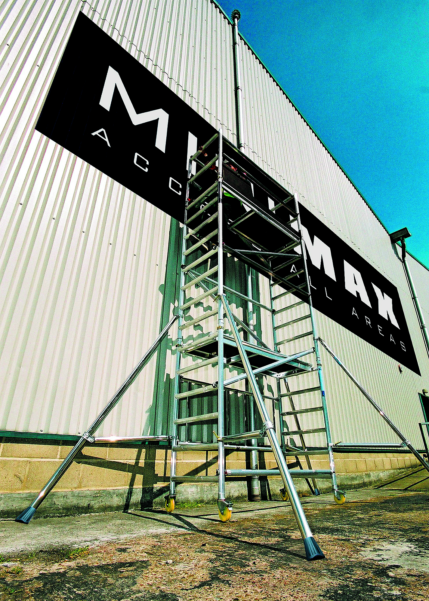 Boss Tower Staircase : M youngman minimax tower
