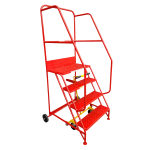 4 Tread Extra-Wide Industrial Mobile Safety Step