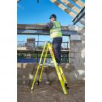 YOUNGMAN 6 Tread Fibreglass Builders Steps