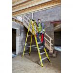 YOUNGMAN 10 Tread Fibreglass Builders Steps