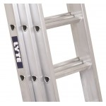 Lyte Triple 3.0m Heavy-Duty Professional Ladder