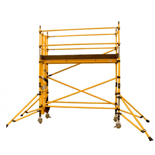 BoSS Zone 1 GRP Single Width  12.2m Working Height Tower