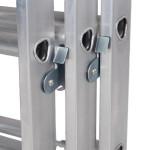LFI-PRo Triple 4.0m Professional EN131 Ladder