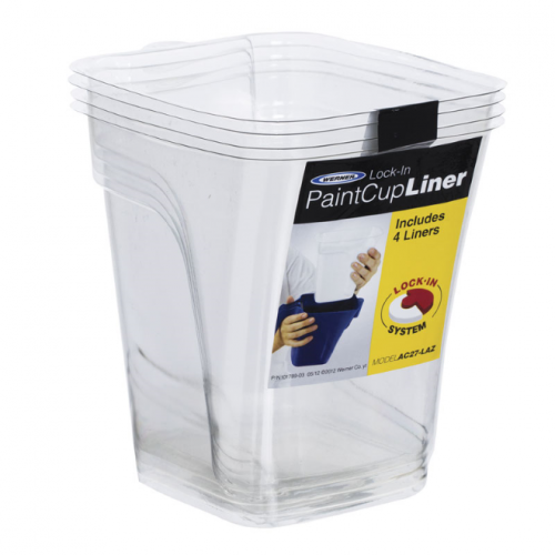 Werner Lock-in Paint Cup Disposable Liners (4)