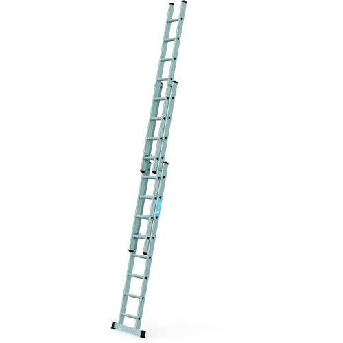 ZARGES Triple 2.5m Professional Trade Ladder