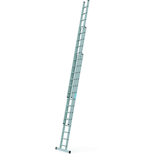 ZARGES Triple 4.10m Professional Trade Ladder