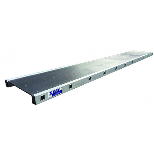 2.5m (8ft) Aluminium Staging Board 450mm Wide