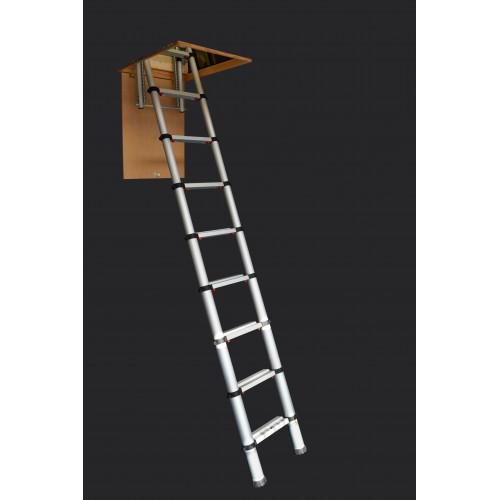 Zarges Telescopic Loft Ladder - 2.9m