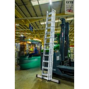 Lyte ProLyte+ Triple 3.5m Heavy-Duty Industrial Ladder