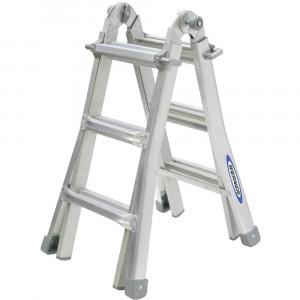 Werner 3 Rung Telescopic Combination Ladder