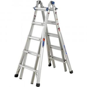 Werner 5 Rung Telescopic Combination Ladder