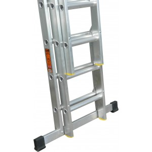 LFI-PRo Triple 2.5m Professional EN131 Ladder