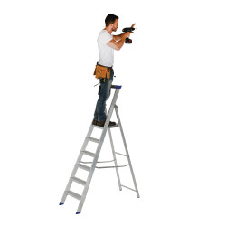 Step Ladders (aluminium)