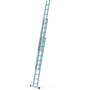 ZARGES Triple 3.0m Professional Trade Ladder