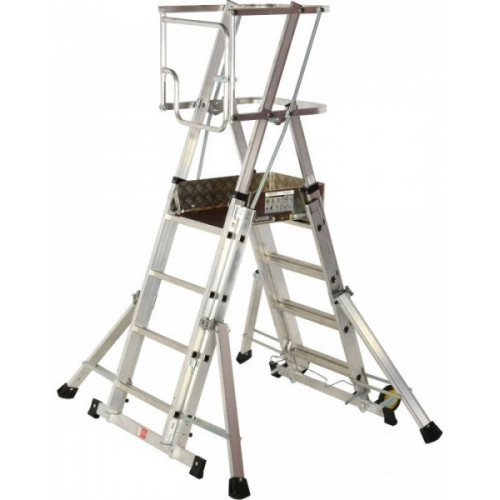"Youngman ""Teleguard"" 4-6 tread  telescopic podium step"