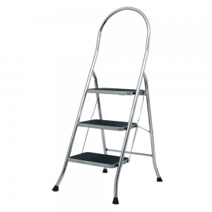 ABRU Chrome Stepstool 3 Tread