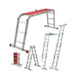 WERNER 12-way Multi Purpose Folding Ladder with platform