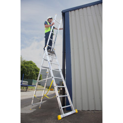 Werner 3.0m  Extension Plus X4 Combination Ladder