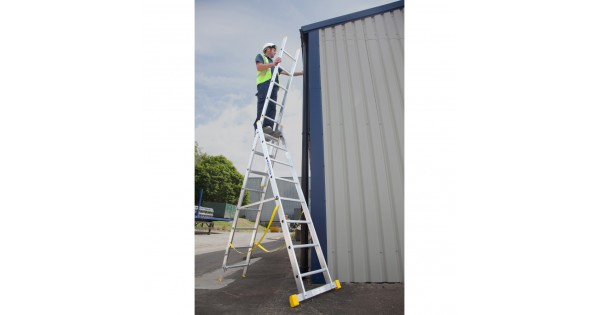 Werner 1 8m Extension Plus X4 Combination Ladder