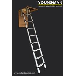 Youngman Telescopic Loft Ladders