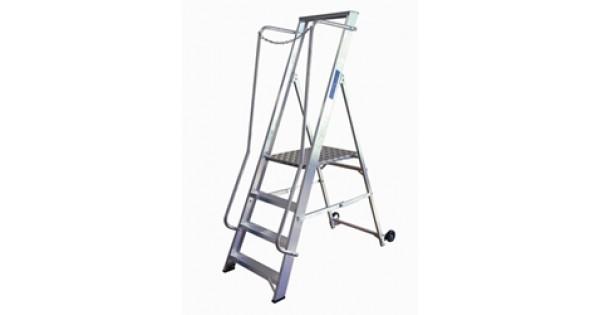 Extra Wide Heavy Duty Aluminium Wide Step