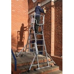 Youngman Teleguard Podium Steps