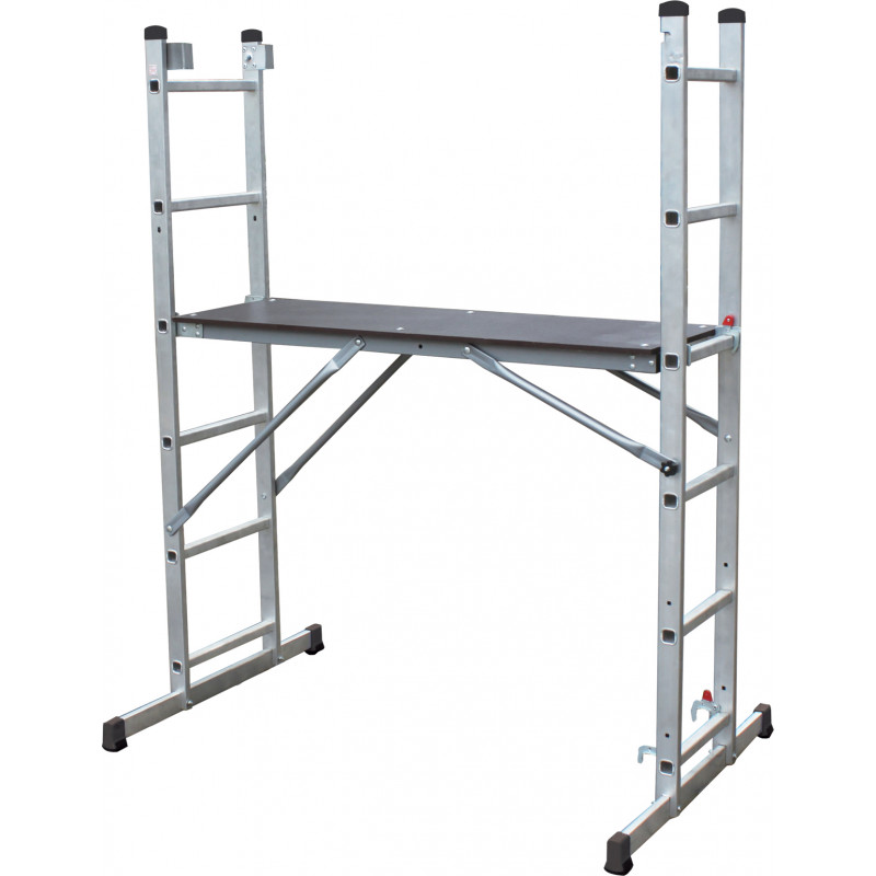 Ladder Scaffold System : Multi use scaffold ladder system