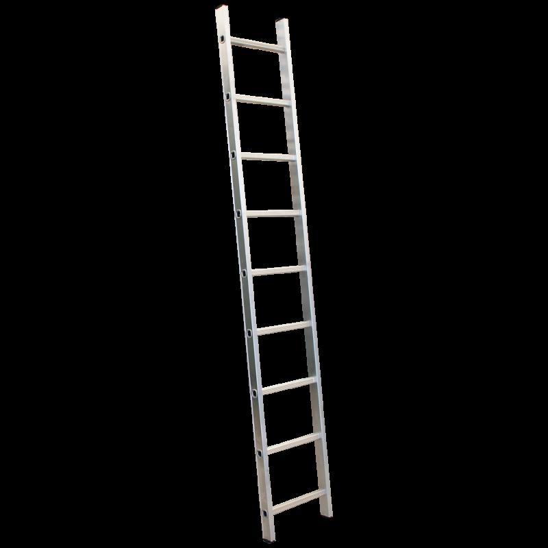 Titan Single Section Aluminium Roof Ladder