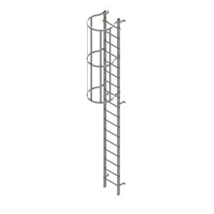 Zarges internal roof hatch access ladder 4.76m