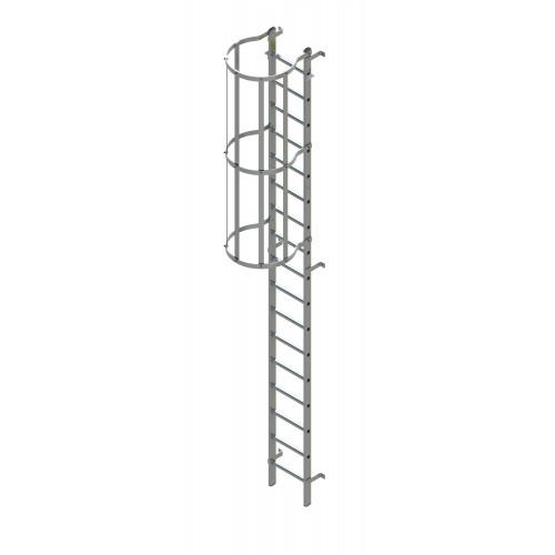 Zarges internal roof hatch access ladder 7.28m