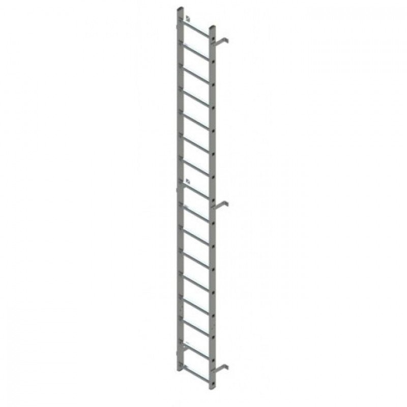 Zarges Fixed Ladder 4.89m