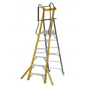 Climb-it 6 Tread Fibreglass Podium Step