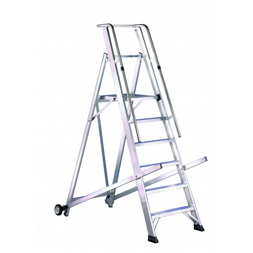 Folding Alloy Mobile Steps