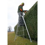 HENCHMAN Platform Tripod Ladder 3.0m with 3 adjustable legs