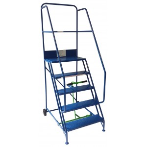 6 Tread Extra-Wide Industrial Mobile Safety Step