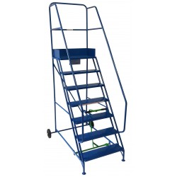 Extra-Wide Industrial Mobile Safety Steps