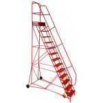 15 Tread Industrial Mobile Safety Step
