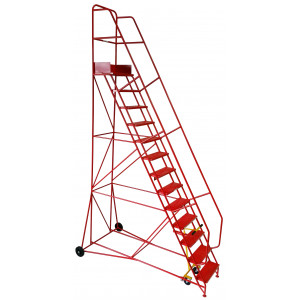 13 Tread Industrial Mobile Safety Step