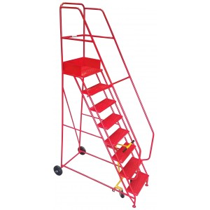 8 Tread Industrial Mobile Safety Step