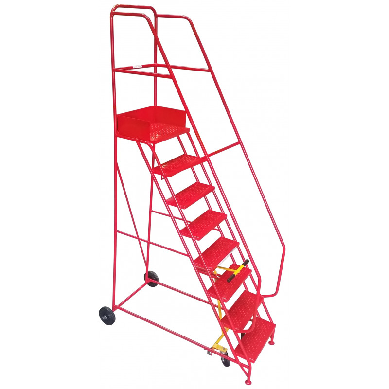 9 Tread Industrial Mobile Safety Step
