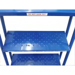 9 Tread Heavy-Duty Industrial Mobile Safety Step