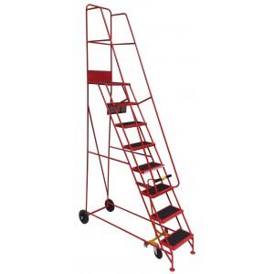 8 Tread Narrow Aisle Mobile Safety Step