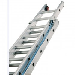 LYTE Triple 6.0m Rope Operated Heavy Industrial Alloy Ladder