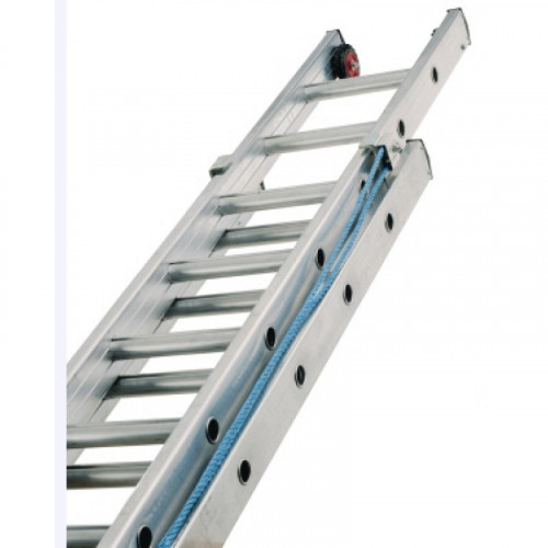 LYTE Triple 5.5m Rope Operated Heavy Industrial Ladder