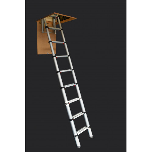 Zarges Telescopic Loft Ladder - 2.6m