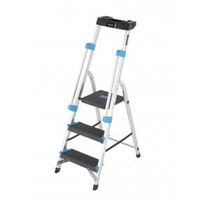 3 Tread Professional Platform Step with Handrails