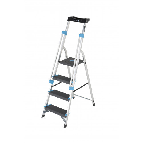 4 Tread Professional Platform Step with Handrails