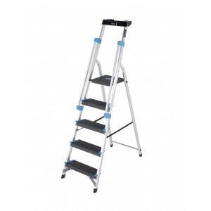 5 Tread Professional Platform Step with Handrails