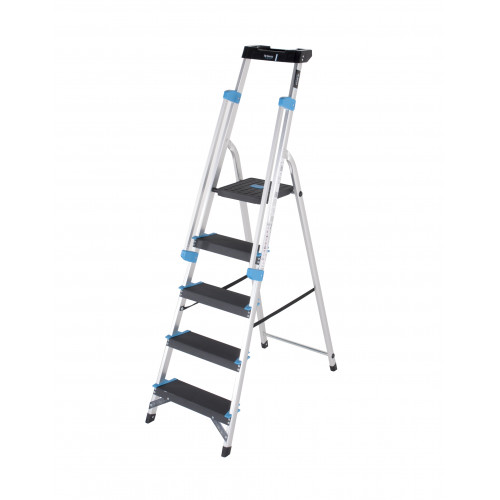 5 Tread Premier XL Platform Step with Handrails