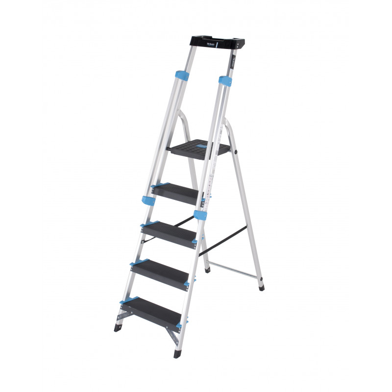 5 Tread Professional Platform Step with Handrails